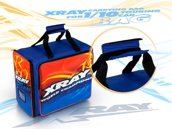Smart Stylish And Distinctive The Light Ultra Versatile XRAY Team Carrying Bag Is Large Spacious Enough To Carry Your RC Car Tools